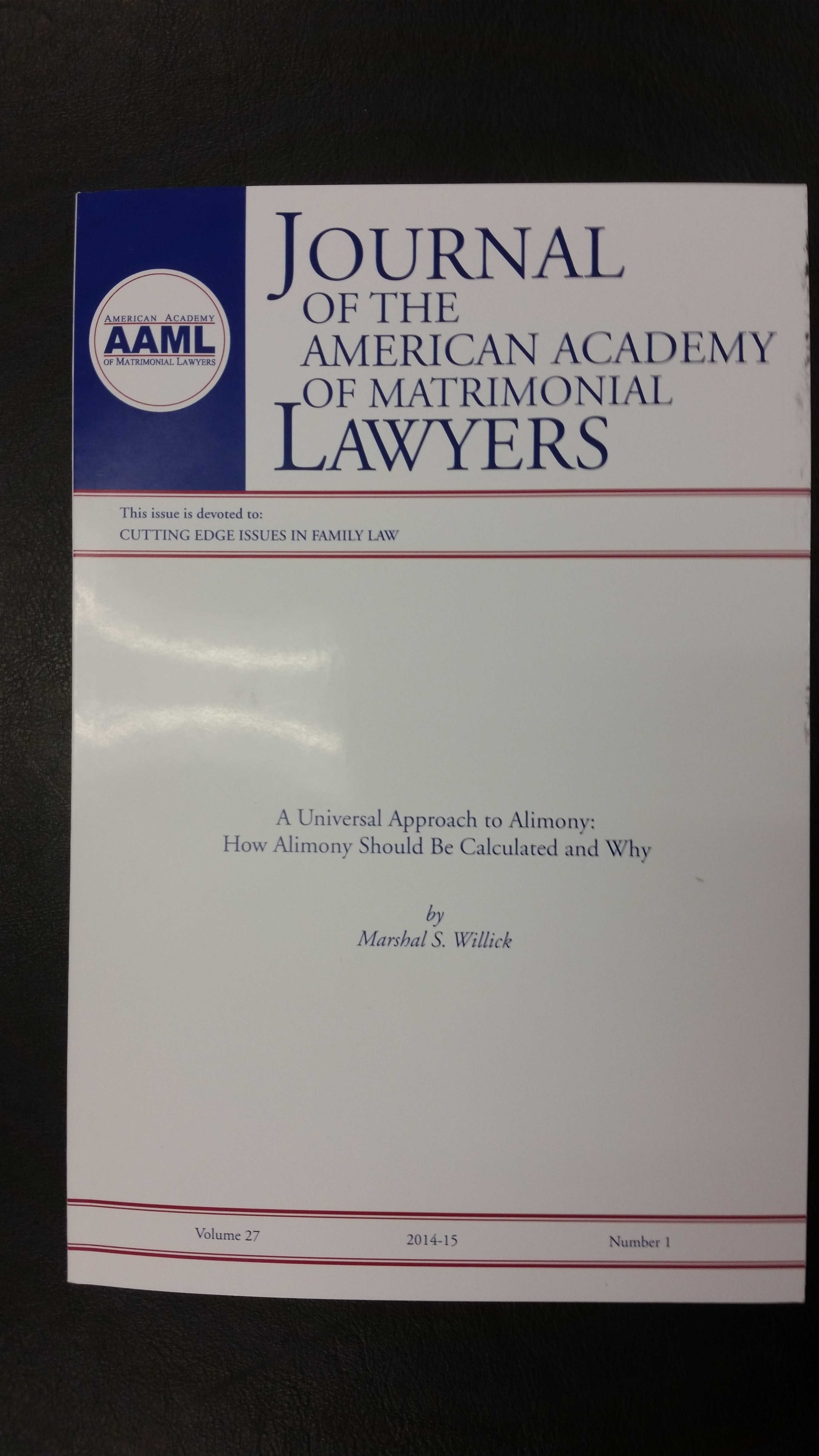 AAML Cover